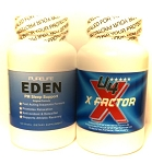 XFACTOR + EDEN PM  One Each